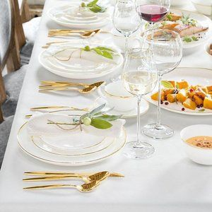 White Rectangular Table Cloth NWOT